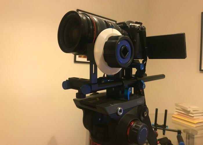 Full kit GH5s, tripod w Fluid Head, Follow Focus + lenses - 2