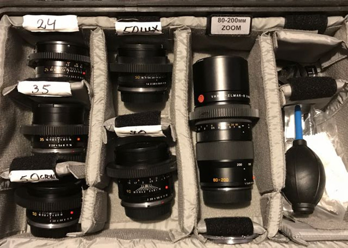 Full Leica Lens set - 1