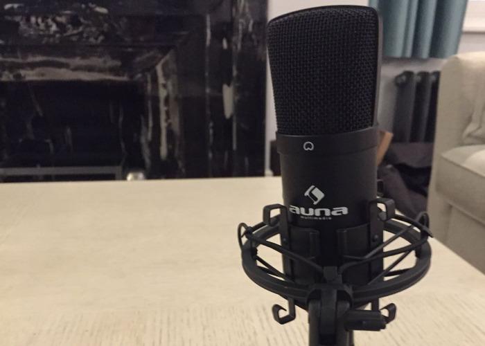 Full podcast audio kit (Zoom H6 + studio microphones) - 2