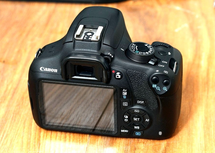 Full Spectrum Converted Canon EOS 1200D 18MP DSLR  Camera  - 1