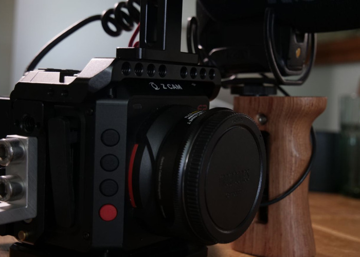 Fully Rigged ZCAM E2 with accessories - 1
