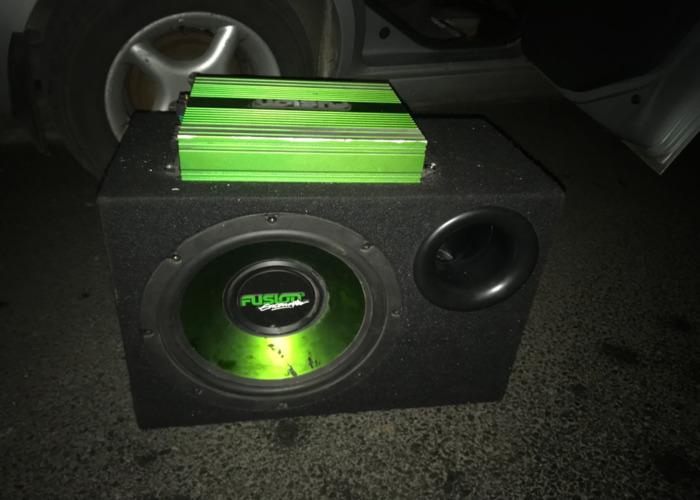 Fusion Sub and Amp - 1