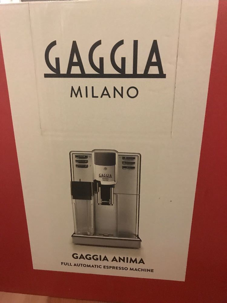 Gagging anima prestige coffee machine  - 1