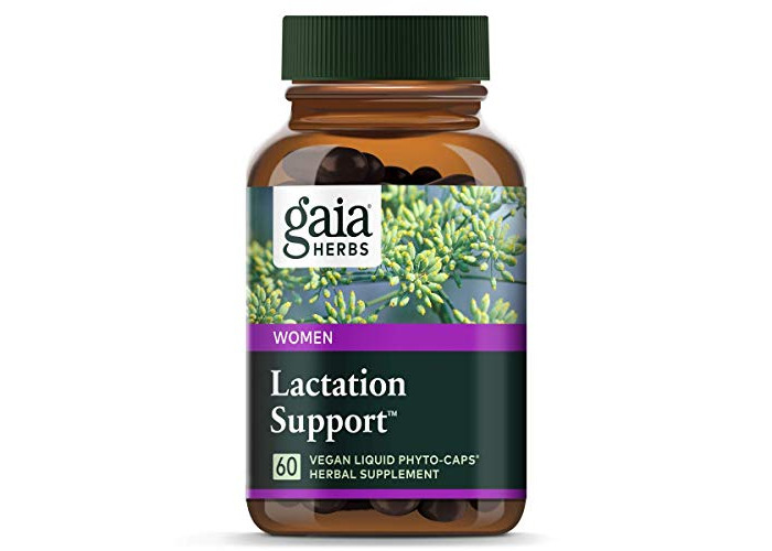 Gaia Herbs Lactate Support, 60-capsule Bottle - 1