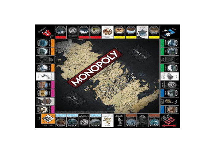 Game of Thrones monopoly - 1