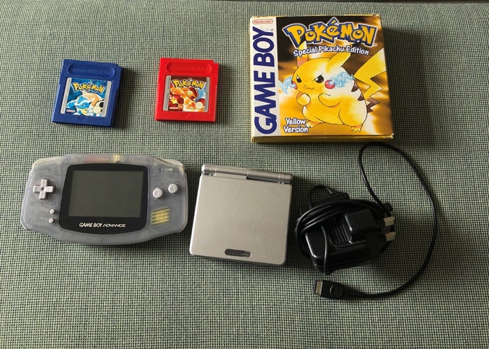 Gameboys and Pokemon Games - 1