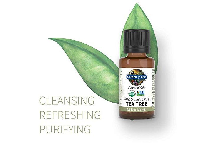 Garden of Life - Organic & Pure Essential Oil Cleansing Tea Tree - 0.5 fl. oz. - 2