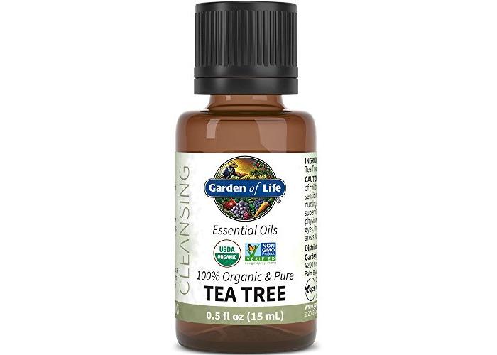Garden of Life - Organic & Pure Essential Oil Cleansing Tea Tree - 0.5 fl. oz. - 1