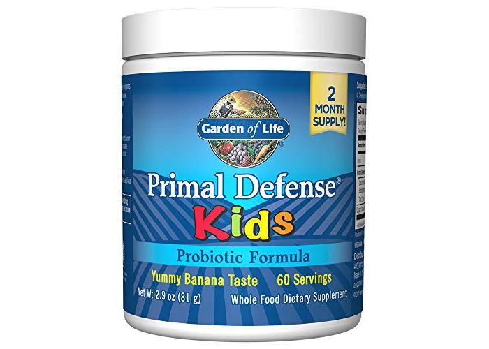 Garden of Life Primal Defense Kids Probiotic Formula (Banana Flavour, 81g), 1 Units - 1