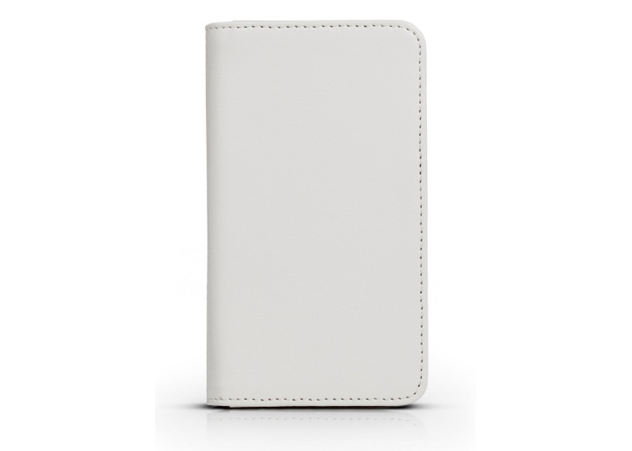 Gear4 PU Leather Look Folio Book Case Cover for iPhone 5/5S/SE - White - 2
