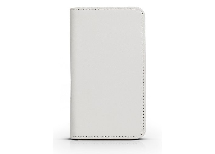 Gear4 PU Leather Look Folio Book Case Cover for iPhone 5/5S/SE - White - 1