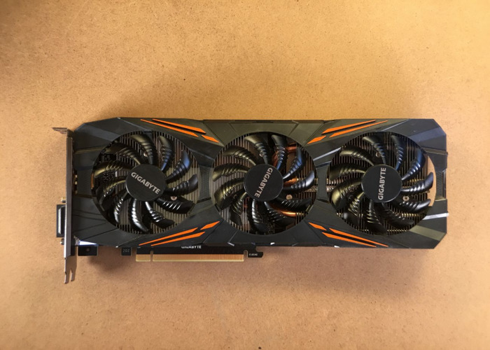 Geforce GTX 1080 GPU - Games, VR, Redshift, Octane - 1