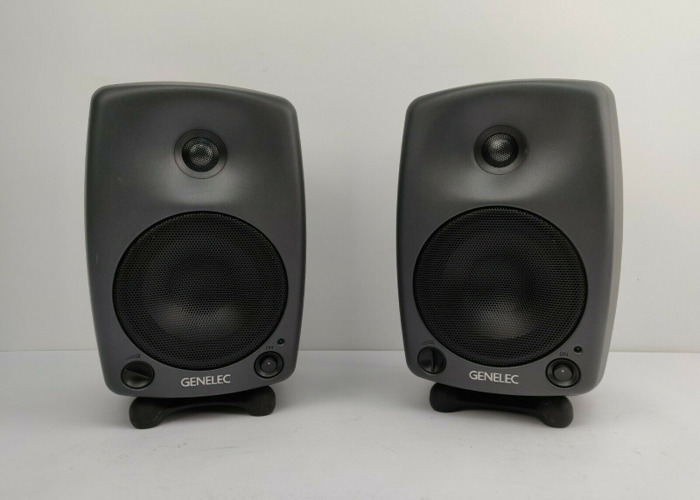 Genelec 8030A / 8030B speakers studio monitors (pairs) - 1