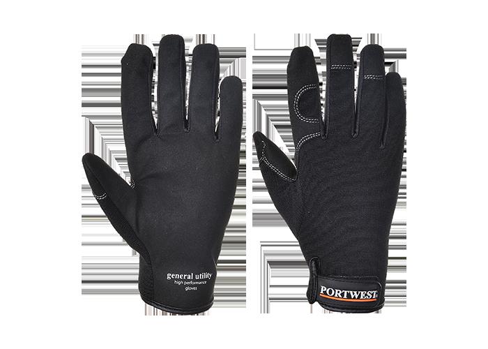 General Utility Glove  Black  Medium  R - 1