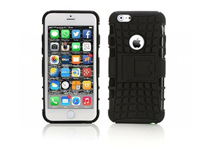 uk availability 9e8d4 0c91d GENUINE INVENTCASE BLACK HEAVY DUTY SHOCKPROOF HARD CASE COVER IPHONE 6 / 6  PLUS