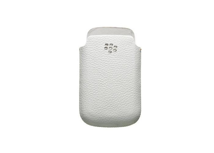 Genuine OEM Blackberry HDW-31343-002 Leather Pocket Pouch Case For Blackberry 8520 / 9300 /9780 - 1