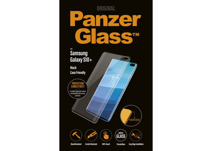 Genuine Panzer Glass 7176 Samsung Galaxy S10 Plus Glass Screen Protector - 2