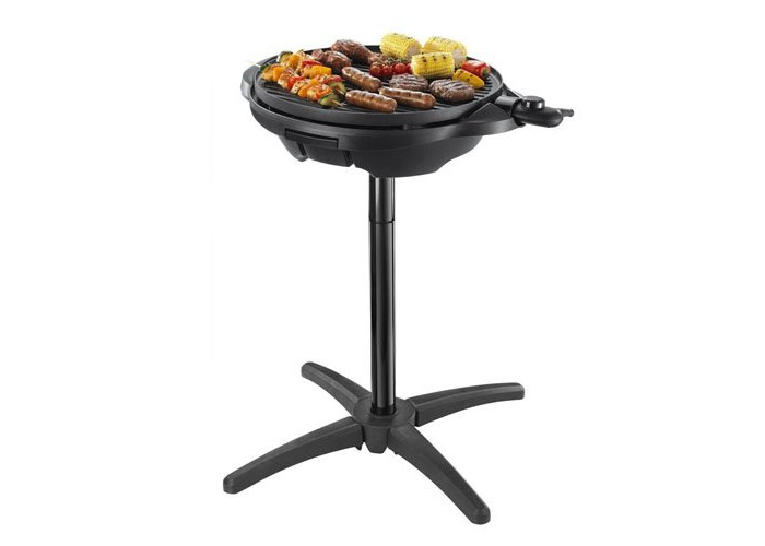 George Foreman Indoor and Outdoor Grill 22460 - Black - 1