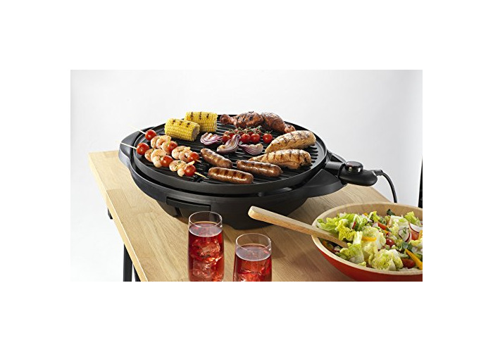 George Foreman Indoor and Outdoor Grill 22460 - Black - 2