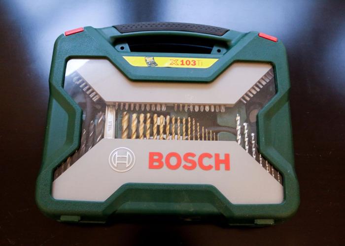 Bosch 103 Piece Titanium Drill and Screwdriver - 1