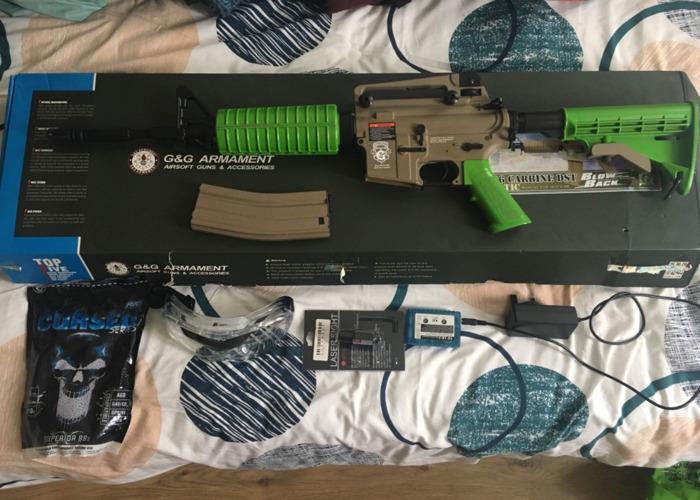 G&G armament GR16 Carbine dst Airsoft gun - 1