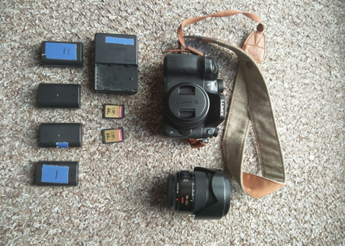 GH4 with Panasonic 25 f1.7 or Lumix 40/140 f 3.5 + Battery - 2