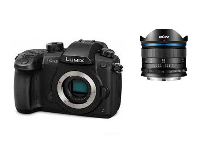 GH5 (Vlog) + 7.5mm Laowa + Batteries - 1