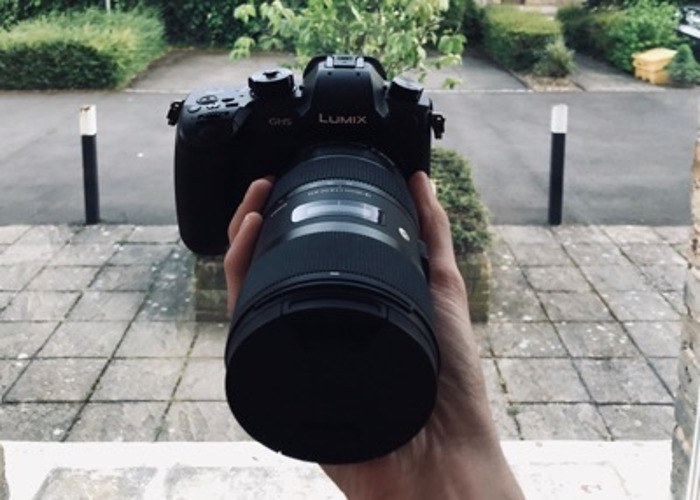 GH5 with Sigma 18-35  - 1