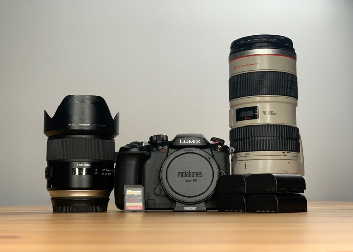 GH5S 35mm Prime + Canon 70-200mm - 1