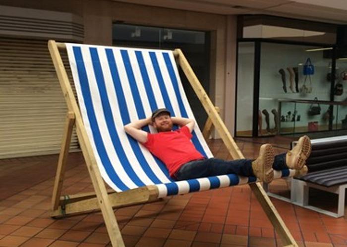 Giant Deck Chair - 1