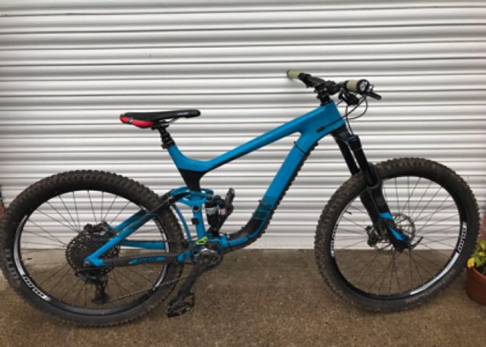 b21bf71aea6 Rent Giant reign advanced 0 carbon full suspension mtb in Rhiwderin ...
