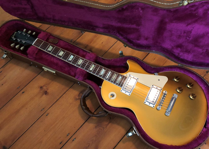 Gibson Les Paul Classic Goldtop 1996 Electric Guitar - 1