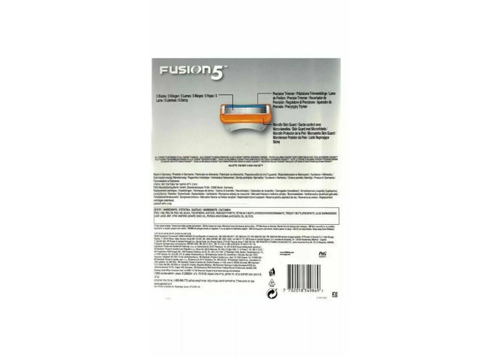 Buy Gillette Fusion 5 Manual Razor Replacement Blades 16
