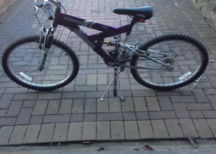 Girls 18 gear bike - 1