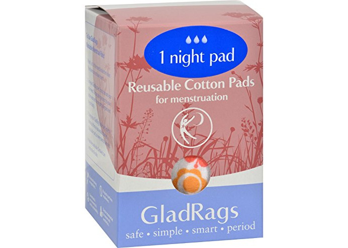 GLADRAGS NIGHTTIME PAD COLOR 1PK, PK by Glad Rags - 1