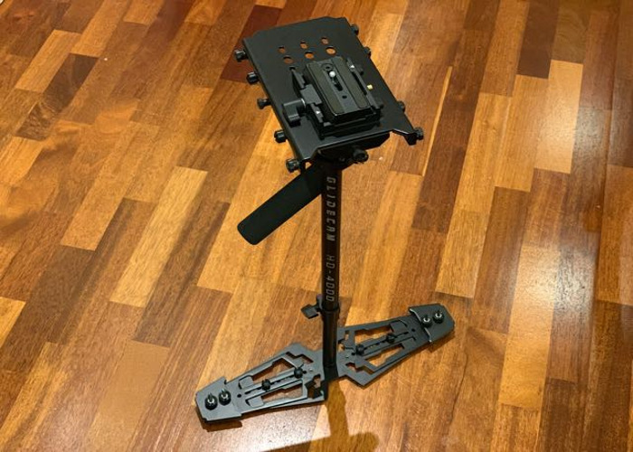 Glidecam HD-4000 with Manfrotto quick release plate - 1