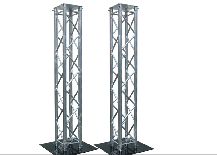 Global Truss Dual 4.10 Ft F34 Vertical Truss Totem  - 1