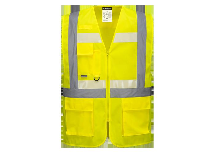 Glowtex Executive Vest II  Yellow  5XL  R - 1