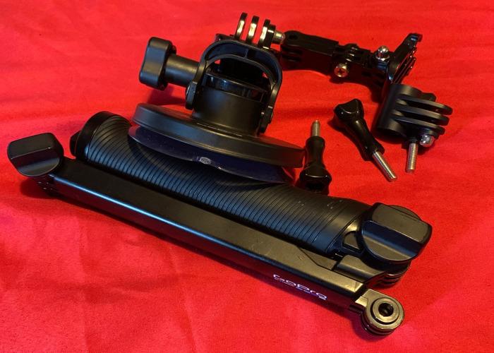 Go pro 3 way grip & car mount - 1