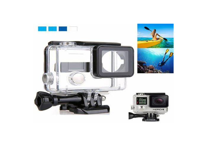 Go pro Hero 3+ with waterproof case - 1