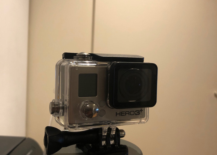 Go pro Hero 3+ with waterproof case - 2
