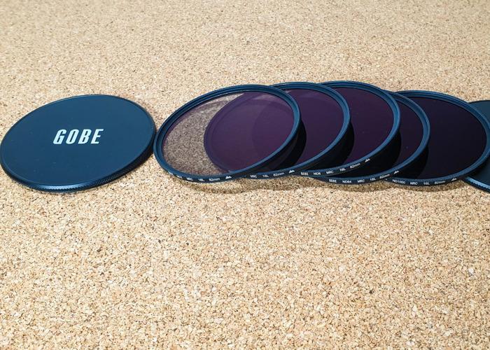 Gobe ND Filter Kit 82mm MRC 16-Layer: ND2, ND4, ND8, ND64, N - 2