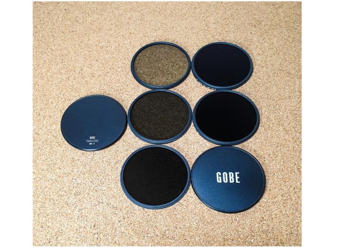 Gobe ND Filter Kit 82mm MRC 16-Layer: ND2, ND4, ND8, ND64, N - 1