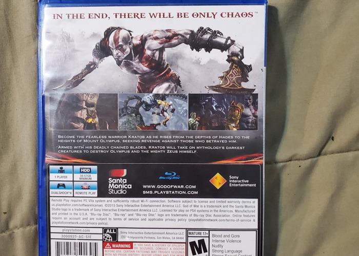 God of War Remastered - 2