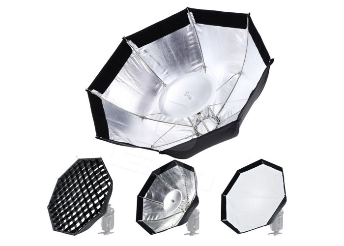 Godox 3 in 1 Softbox /w Grid - AD180, AD200, AD360 W1B - 1