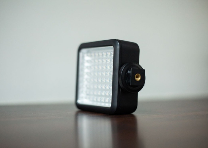 Godox LED64 Light with 4 AA batteries and battery charger for DSLRs - 2