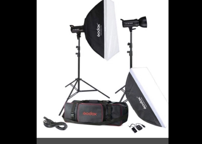 GODOX SK400 800W Photography Flash Studio Lights - 2