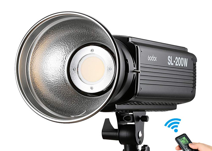 Godox SL200W Led Light with C stand - 1