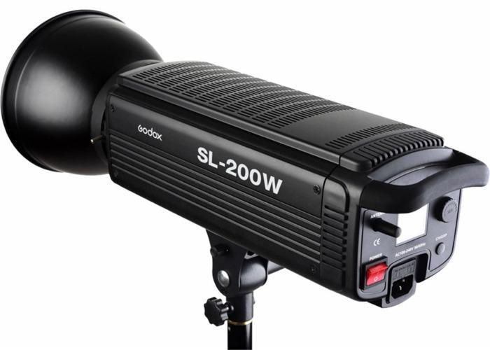 Godox SL-200W LED Video Light - 2
