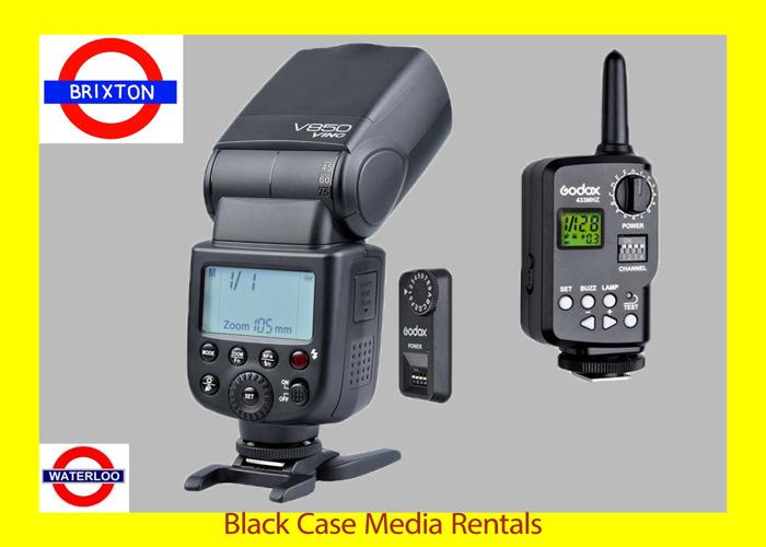 Godox V850 wireless Canon+Nikon+Sony Speed Flash - 1